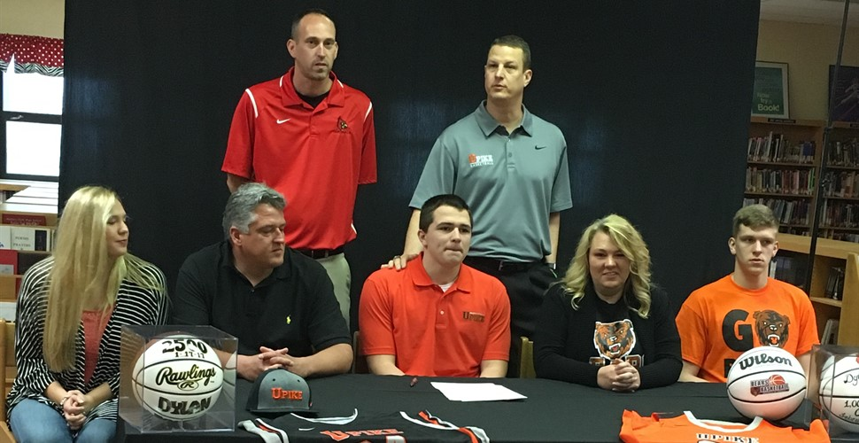 Dylan James signs with UPike.