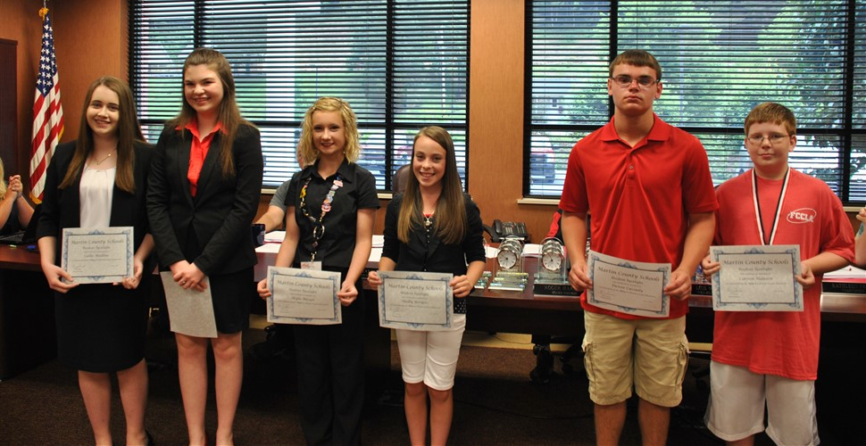 FCCLA National Award Winners