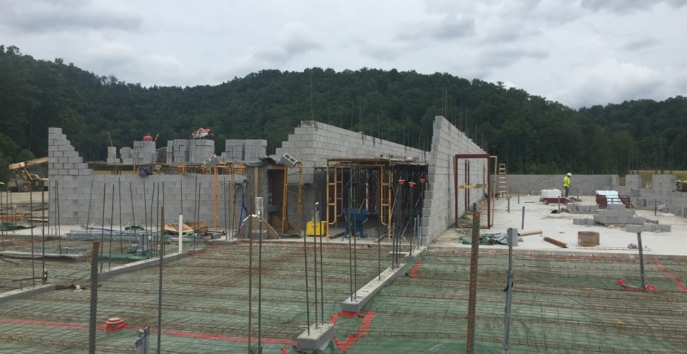 Martin County High School Construction, June 2017.