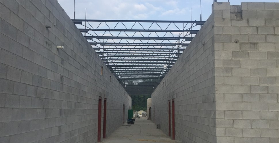 Martin County High School Construction, July 2017.