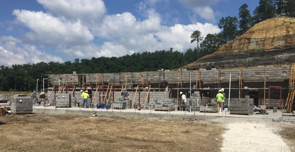 Martin County High School Construction, August 2017.