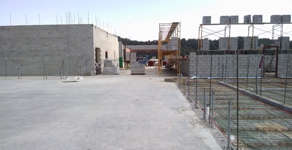 School Construction Late Summer, 2017.
