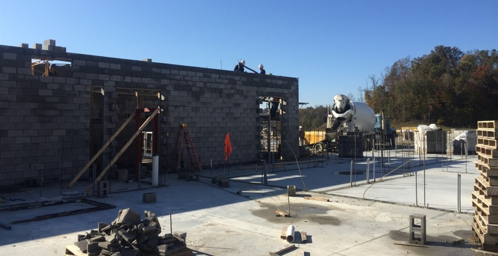 MCHS Construction. Late October, 2017.